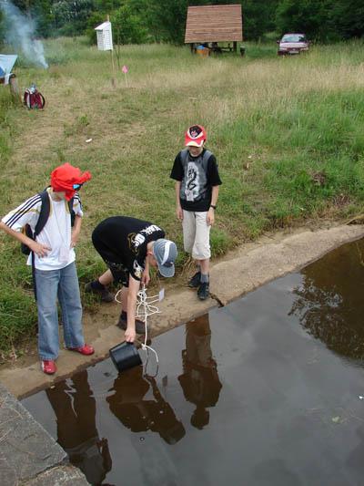 GLOBE GAMES 2007_badania wody_p